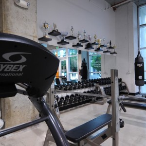 The personal training studio